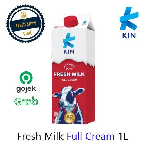 Foto Produk Susu Segar KIN Pasteurisasi Fresh Milk 1L | Plain Full Cream dari Fresh Store Pluit