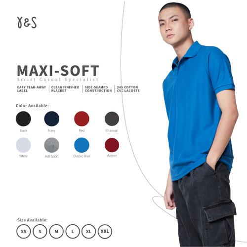 Foto Produk Y&S MaxiSoft Kaos Polo Shirt dari Y&S Kaos Polos