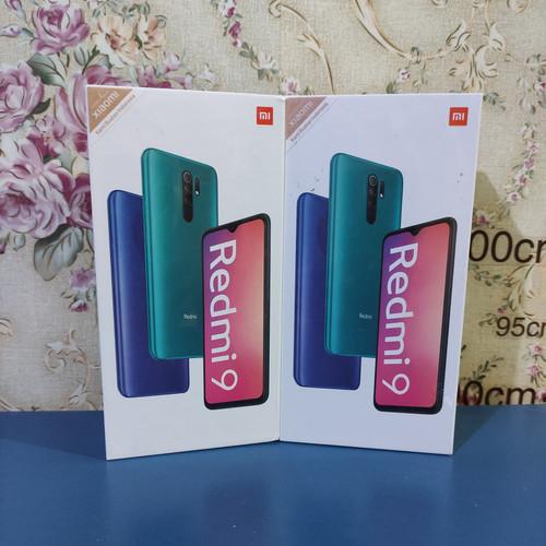 Foto Produk Xiaomi Redmi 9 RAM 4/64 Segel Garansi Resmi - Ocean Green dari RH2 Online