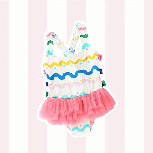 Foto Produk Rainbow Wavy Swimwear / Baju Renang Bayi - 2-4 Tahun dari Abby Baby
