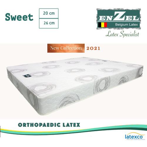 Foto Produk Kasur Full Latex Enzel Sweet 25cm Orthopaedic Uk180x200x25 cm dari Enzel Belgium Latex8