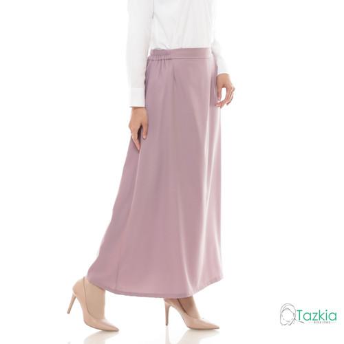 Foto Produk Bawahan Muslim Wanita | Basic Skirt Ungu | Rok Polos | Tazkia Hijab - Ungu dari Tazkia Hijab Store