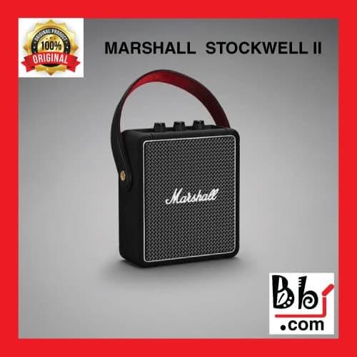 Foto Produk Speaker Portable Marshall Stockwell II Bluetooth 5.0 Black dari BolehBelanjaID