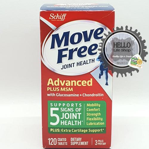 Foto Produk Glucosamine and Chondroitin Plus MSM - SCHIFF ADVANCED MOVE FREE BONE dari HELLO LIFE