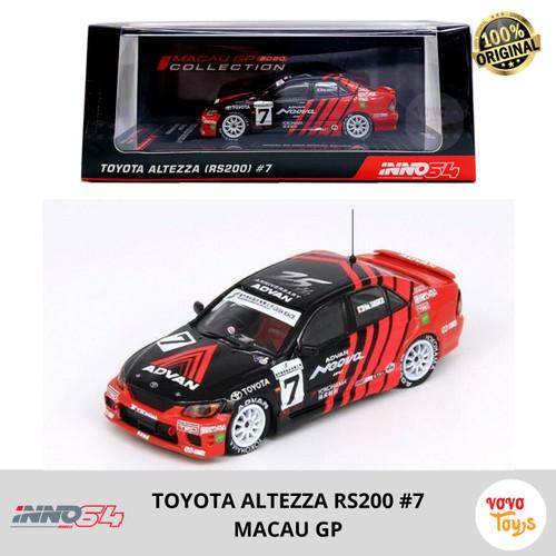 Foto Produk Inno 1/64 Toyota Altezza RS200 Macau GP 2020 #7 dari Vovo Toys