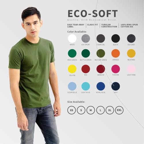 Foto Produk Kaos Polos Y&S Eco-Soft dari Y&S Kaos Polos