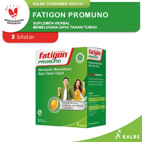 Foto Produk Fatigon Promuno Suplemen- Blister 1 Box Isi 30 Kapsul dari Kalbe Consumer Health