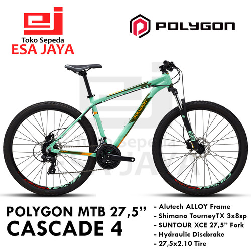 "Foto Produk Polygon MTB CASCADE 4 27,5"" Sepeda Gunung 24sp Shimano Original BNIB - S dari Esa Jaya"