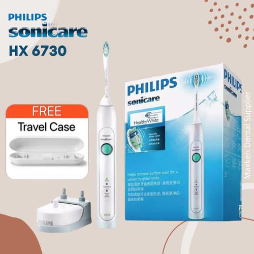 Foto Produk Philips Sonicare HX6730 electric toothbrush sikat gigi elektrik dari Maxken Dental Supplier