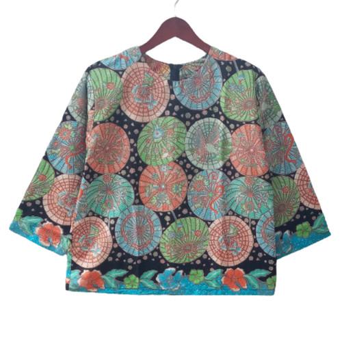 Foto Produk atasan batik wanita modern payung top dari Batik Sri