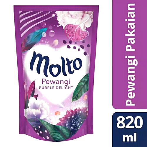 Foto Produk Molto Pelembut Dan Pewangi Pakaian Purple Delight 820 ml dari taskiashoop