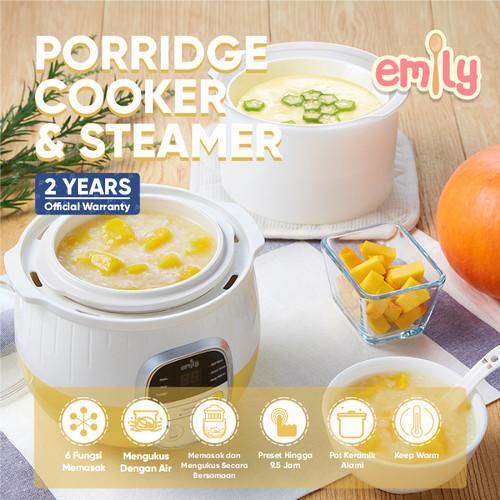 Foto Produk Emily Porridge Slow Cooker 0.8L / Baby & Family Food Maker dari Emily and Bear Indonesia