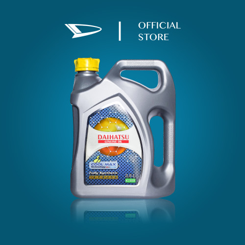 Foto Produk Daihatsu Genuine Oil 0W-20 API SN/GF-5 Fully Synthetic 3.5L dari Daihatsu Part & Oil