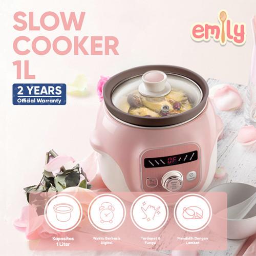 Foto Produk Emily Slow Cooker Claypot 1L / Baby & Family Food Maker dari Emily and Bear Indonesia
