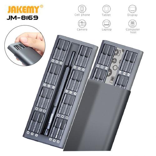 Foto Produk Jakemy JM-8169 S2 49 in 1 Obeng Set Magnet For Handphone Kamera Xiaomi dari HOUSE SPAREPART