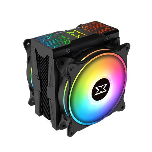 Foto Produk Cooler Master Xigmatek Windpower Pro ARGB Cpu Heat Dissipator Dual Fan dari AL computerr