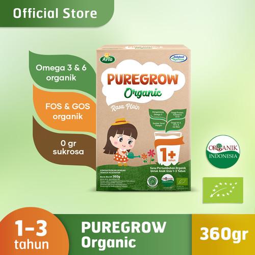Foto Produk PUREGROW Organic - Susu Formula Organik 1-3 Tahun 360gr Girl dari PUREGROW Organic House