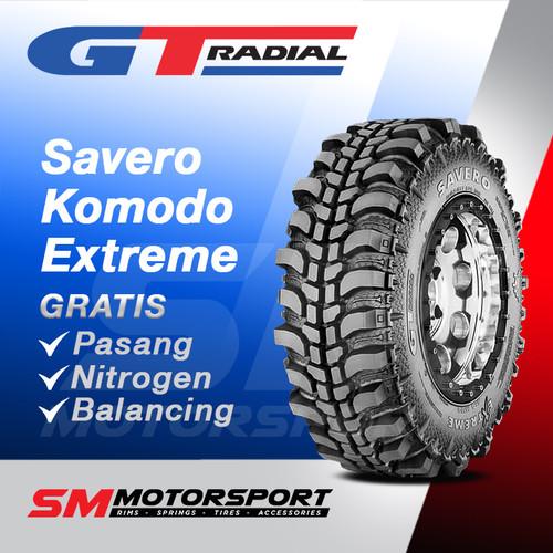 Foto Produk Ban Mobil GT Radial Savero Komodo Extreme 33x10.5 R15 15 dari YopieSMmotor
