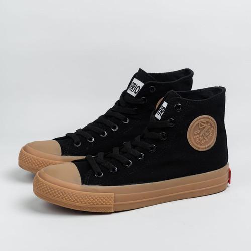 Foto Produk Sepatu Warrior Neo Sparta Gum High Cut Black dari yk raya