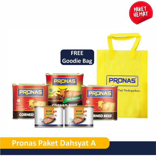 Foto Produk PRONAS Paket Dahsyat A Bundling 5 pcs dari Pronas Official Store