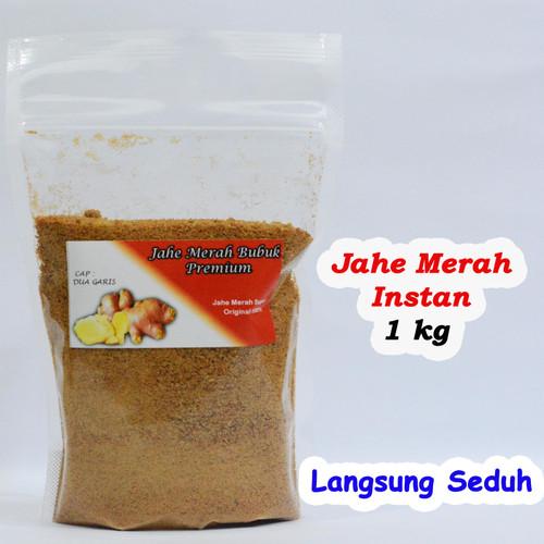 Foto Produk Jahe Merah Bubuk / Jahe Merah Bubuk Instant / Bubuk Jahe Merah 1kg dari Dua Garis Store