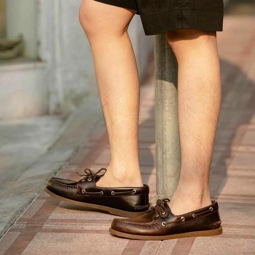 Foto Produk Sepatu Boatshoe Sperry Topsider Amaretto Original dari rkonstantin