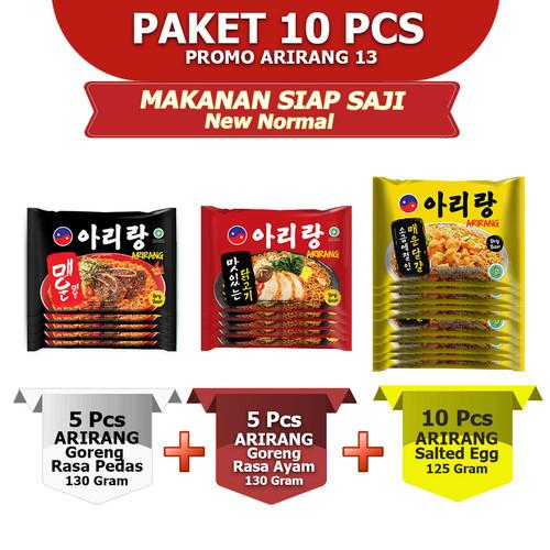 Foto Produk ARIRANG GORENG PEDAS 5pcs, GORENG AYAM 5pcs, SALTED EGG 10pcs (AR13) dari Arirang Official Store