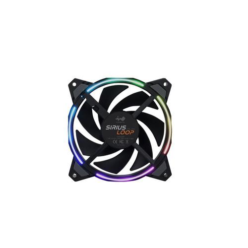 Foto Produk InWin Sirius Loop ASL120 Triple Pack - ARGB 120mm / 12cm Fan dari AL computerr