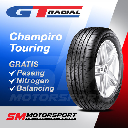 Foto Produk Ban Mobil GT Radial Champiro Touring A/S 205/55 R16 16 dari YopieSMmotor