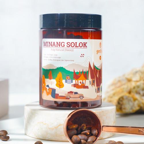 Foto Produk Kopi Minang Solok Honey 100 gram dari Gerilya Coffee