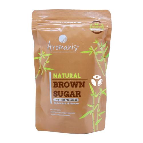 Foto Produk Aromanis - Brown Sugar 250gr - Gula Alami - Pemanis Alami dari Jagapati