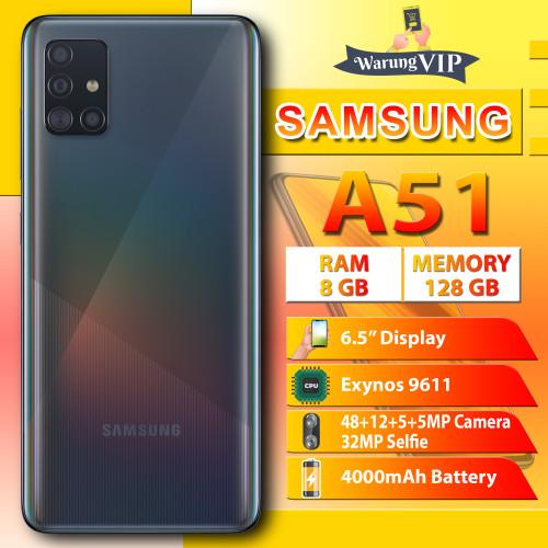 Foto Produk SAMSUNG Galaxy A51 8/128 RAM 8GB ROM 128GB Garansi Resmi SEIN - Hitam dari Warung VIP