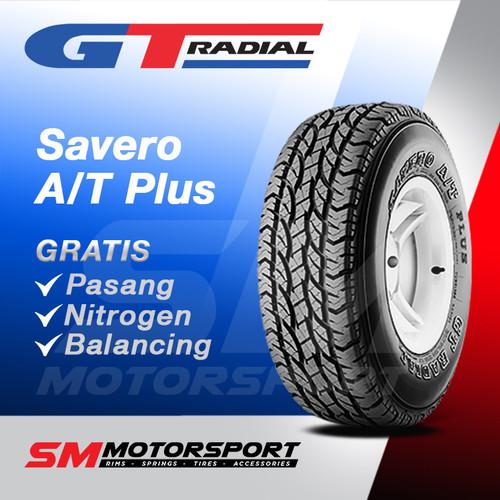 Foto Produk Ban Mobil GT Radial Savero A/T Plus 235/70 R15 15 dari YopieSMmotor