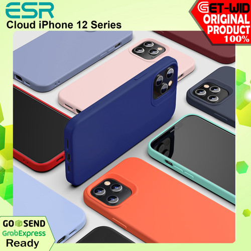 Foto Produk Case iPhone 12 Pro Max / 12 Mini / 12 Pro ESR Cloud Soft Case - iPhone12ProMax, Hitam dari GET-WID Official