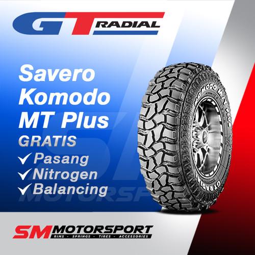 Foto Produk Ban Mobil GT Radial Savero Komodo MT Plus LT265/75 R16 16 dari YopieSMmotor
