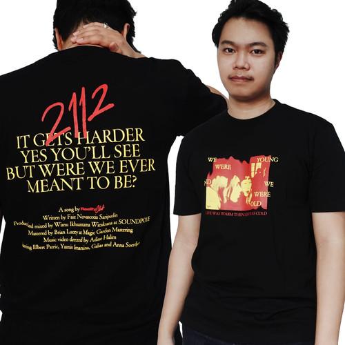 Foto Produk Reality Club - 2112 Black Short Sleeve T-Shirt dari Reality Club Official