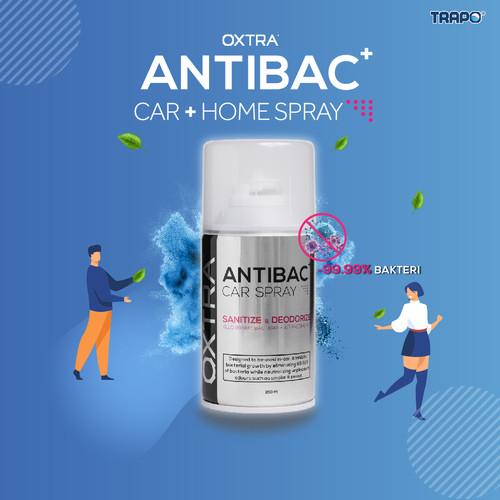 Foto Produk Trapo Oxtra Antibac Car Spray Bunuh 99.9% Virus & Bakteri-Clear Quartz dari Trapo Indonesia