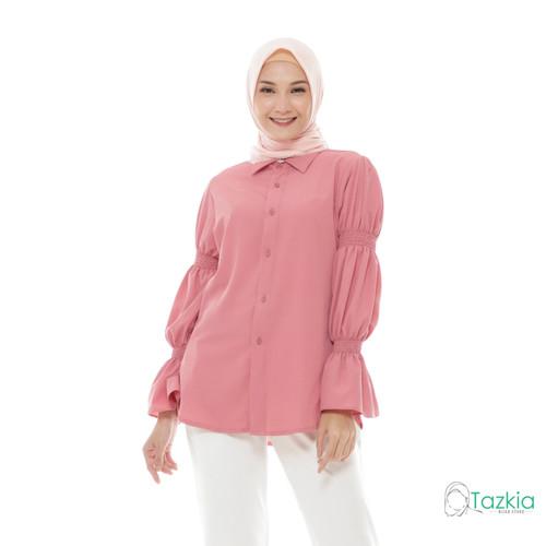 Foto Produk Atasan Wanita Muslim | Lamia Top Rose | S M L XL | Tazkia Hijab Store - M dari Tazkia Hijab Store