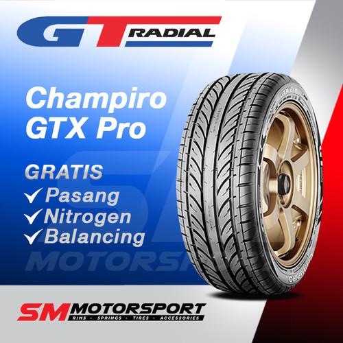 Foto Produk Ban Mobil GT Radial Champiro GTX Pro 185/60 R15 15 dari YopieSMmotor