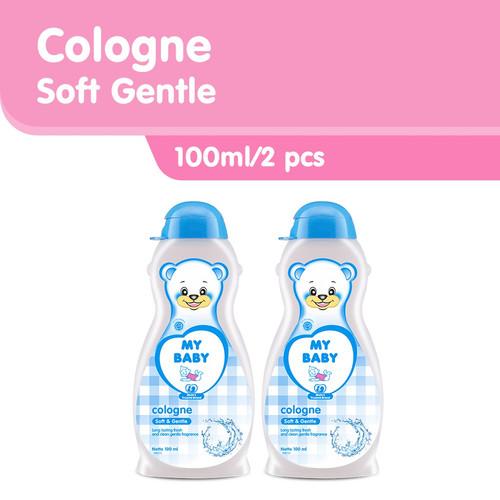 Foto Produk MY BABY Cologne Soft & Gentle [100mL/2pcs] - Minyak Wangi Bayi dari Tempo Store Official