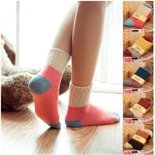 Foto Produk KK52 Kaos Kaki Korea Wanita Autumm Women Colorfull Sock Tebal dari EnnWen Online Store