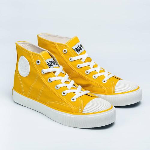 Foto Produk Sepatu Warrior Classic High Cut Sun Flower - Kuning dari yk raya