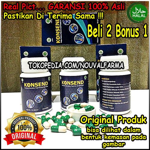 Foto Produk Konsend Asli Herbal Original Obat Nyeri Sendi & Tulang Resmi BPOM dari NouvalFarma