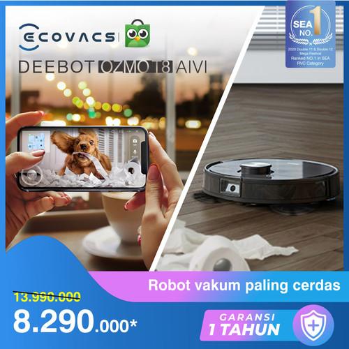 Foto Produk Ecovacs DEEBOT OZMO T8 AIVI Robot Vacuum Cleaner Vacum dari Ecovacs Indonesia