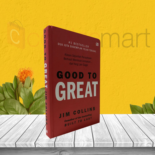 Foto Produk BEST SELLER BUKU MOTIVASI GOOD TO GREAT ORIGINAL dari cerdas media