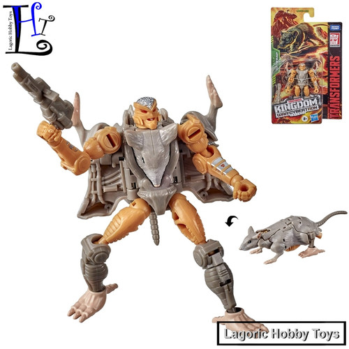 Foto Produk Transformers WFC-K2 Ratrap Generations Kingdom Hasbro dari Lagoric Hobby Toys