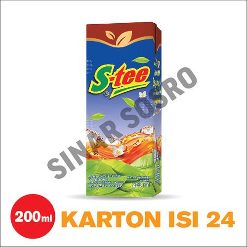 Foto Produk S-tee Kotak 200 ml isi 24 dari Sosro Official Store