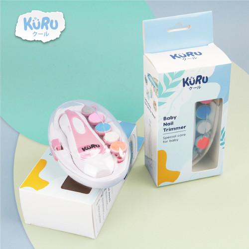 Foto Produk KURU Baby Nail Trimmer Electric Alat Kikir Gunting Kuku Bayi Elektrik dari bobo baby shop