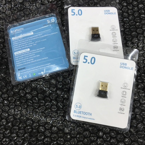Foto Produk Bluetooth 5.0 USB Dongle Adapter CSR V5.0 dari Oktha Store