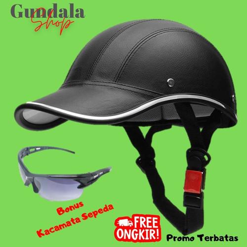 Foto Produk Helm Sepeda Model Topi dari Gundala Senja